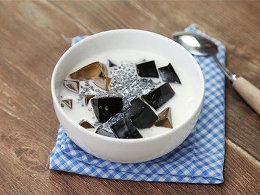 Thạch hạt é vừa thanh mát vừa dễ làm
