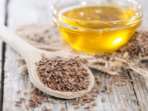 Hạt lanh có thể gây đau bụng, đầy hơi