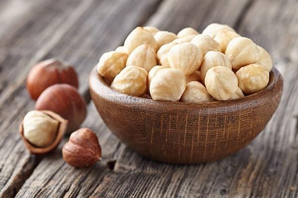 Hạt quả phỉ chứa một lượng lớn protein, chất xơ, mangan, đồng...